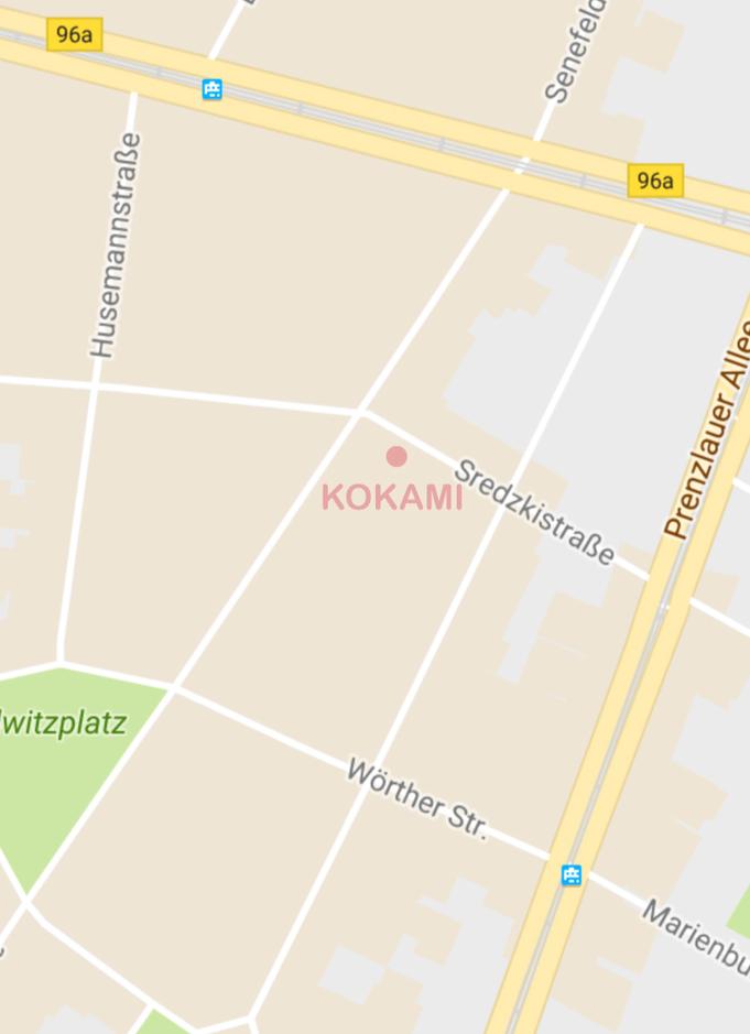 KOKAMI / Sredzkistr. 54 / 10405 Berlin